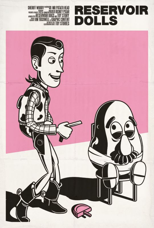 Movie Posters Re-Imagined Using Toy Story Characters