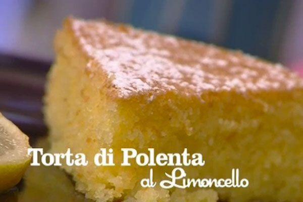 Ricetta Torta di polenta al limoncello - I menù di Benedetta