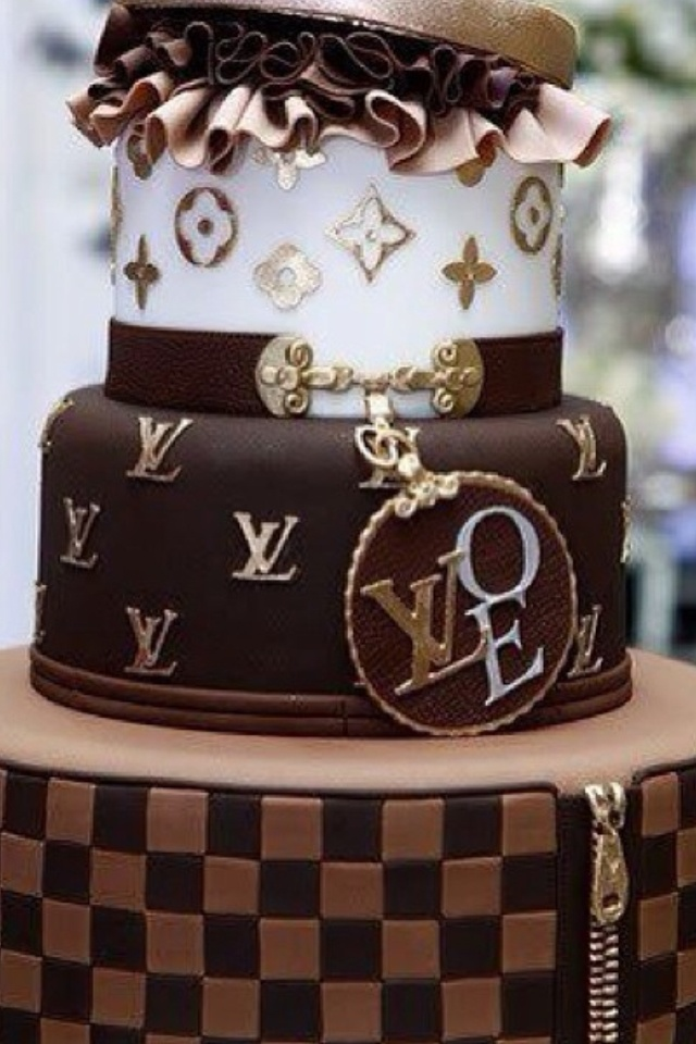 Louis Vuitton Chocolate Cake Chocolate Cake Pinterest