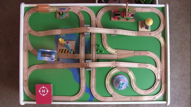 15 Best Train Track Layouts Images On Pinterest Wooden