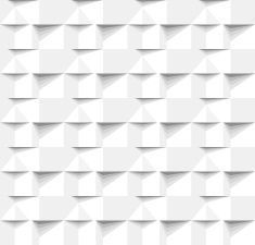 Abstract 3 D white geometrical background. Seamless pattern. Architectural structure. vector art illustration