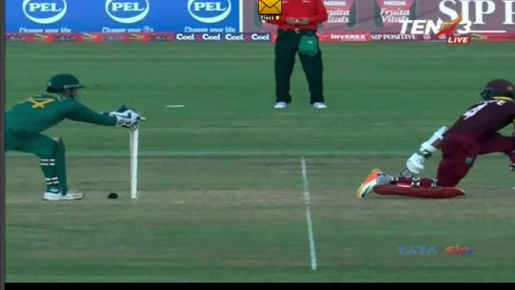 Shadab khan First Wicket In One Day Cricket 2017 Against West Indies
