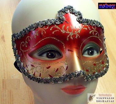 Farsangi maszk, utca-maszkabálra, sziveszterre.