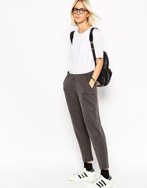 Широкие брюки со складками | Гаремные брюки и брюки с завышенной талией | ASOS
