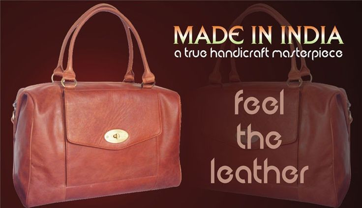 good quality leather bags feel the leather