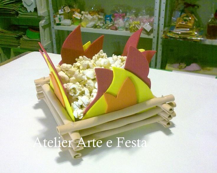 Atelier Arte e Festa: Enfeite Fogueira Junina