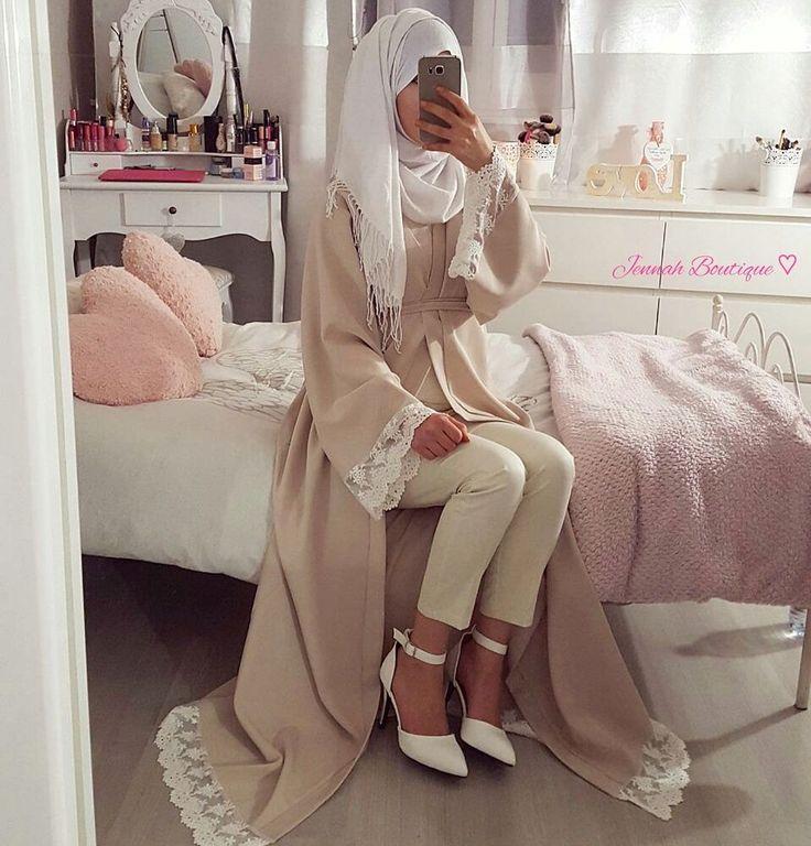 Abaya Kimono EL AMIRA ♡ via Jennah Boutique. Click on the image to see more!