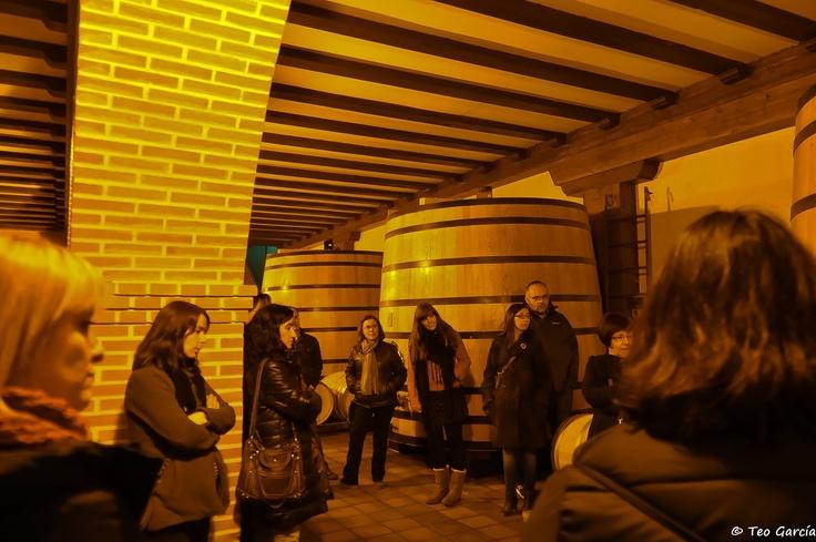 4ª Bibliocata: en Bodegas Mocén, de Rueda (Valladolid, España)