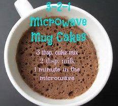 Image result for mug cake recipes microwave