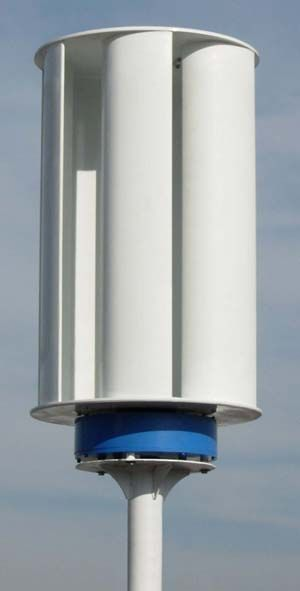 Vertical Axis Wind Turbine - Get instant electrical power in any outage or…