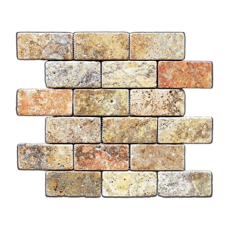 68 best images about kitchen backsplash ideas on pinterest for Best grout color for travertine tile