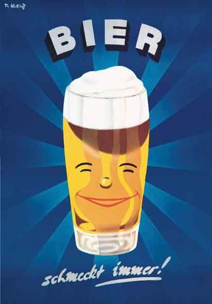 Bier Bierplakate Zapfhahn Kneipe Durst Bier