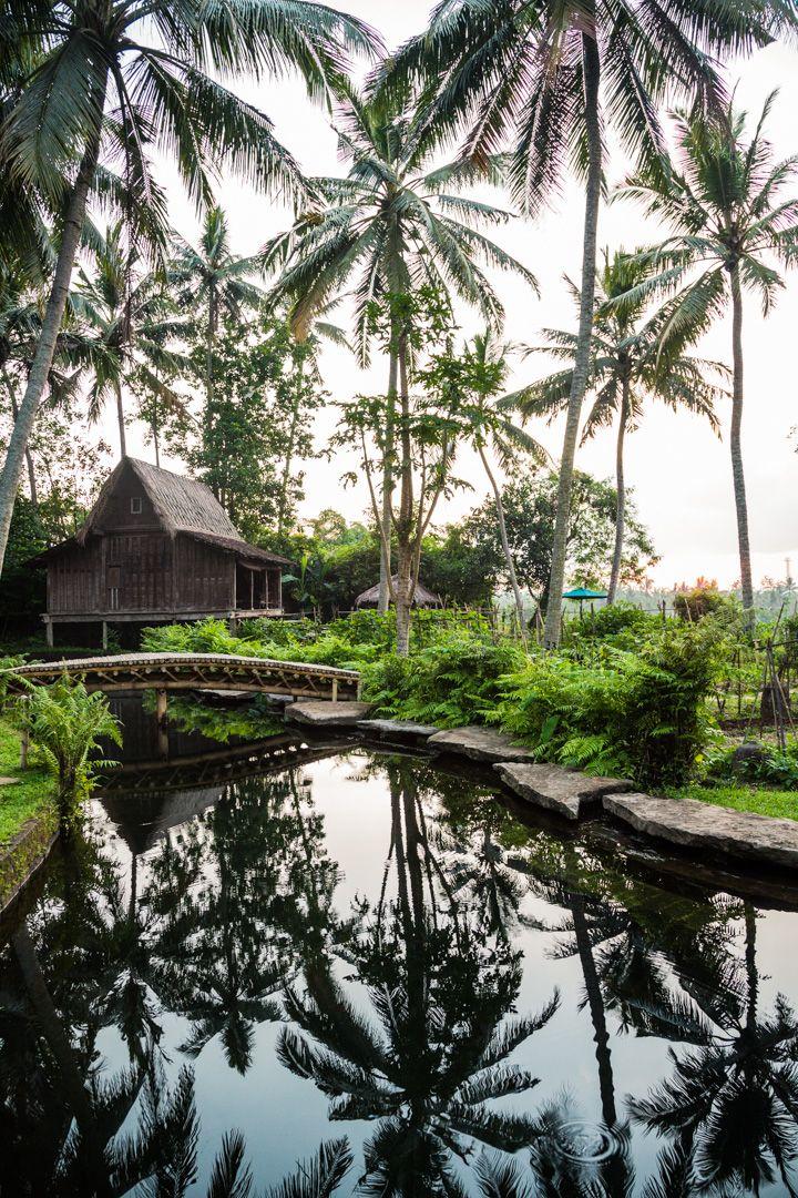 Bambu Indah in Ubud, Bali: an extraordinary eco-chic retreat. i-escape.com