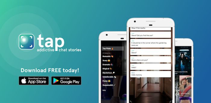 Read addictive chat stories for free with Tap by Wattpad. Dive into interactive, heart-pounding stories that drop you right into the action, as if you're reading someone else's texts. Download the app for iOS and Android!