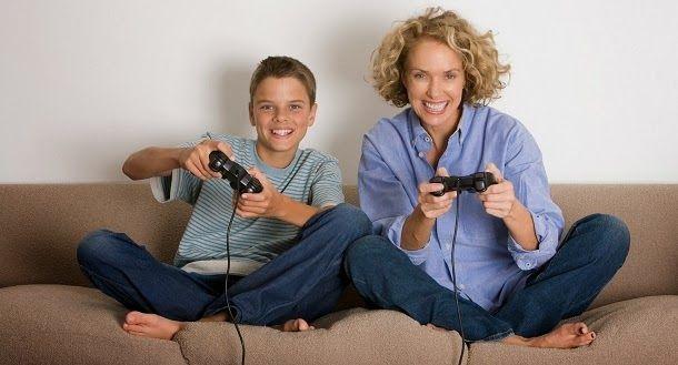 Não se sinta culpado por ver os seus jogar jogos de vídeo - isso pode ser bom para a saúde mental dos seus filhos, afirma estudo.