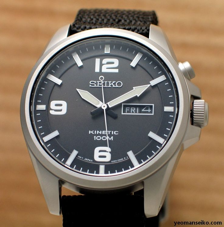 Seiko kinetic smy143p1 this is one of my dream watch powered by kinetic simple classic for Seiko kinetic watches