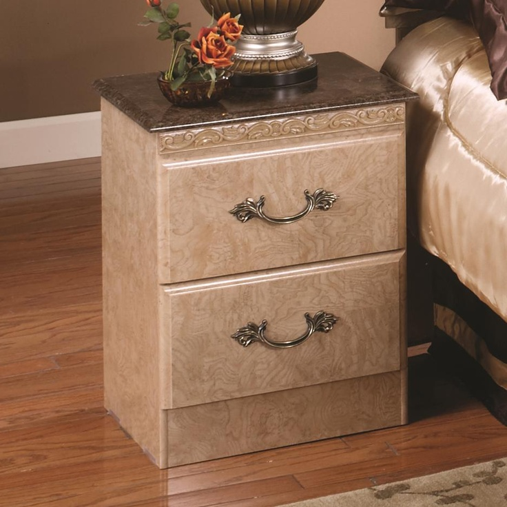 Lang Furniture - Kenosha Studio 2 Drawer Nightstand