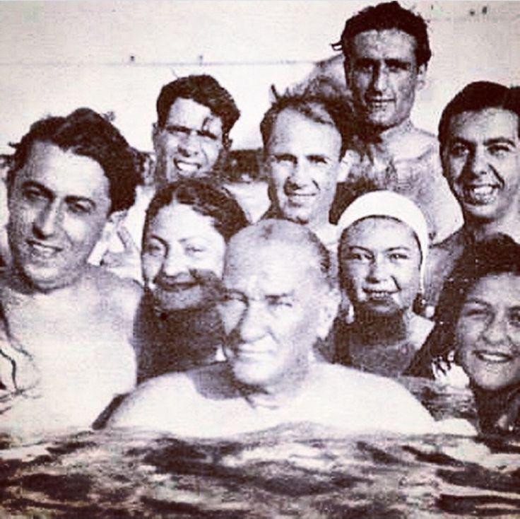 ✿ ❤ Atatürk Florya'da...