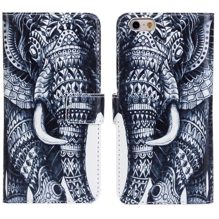 New Case - Apple iPhone 6 Tribal Elephant Designer Printed Wallet Case, $16.95 (http://www.newcase.com.au/apple-iphone-6-tribal-elephant-designer-printed-wallet-case/)