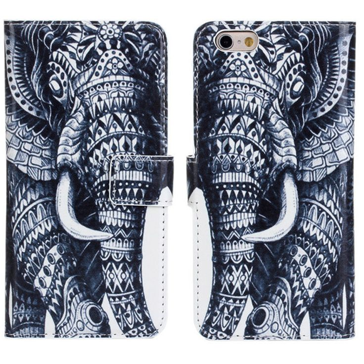 New Case - Apple iPhone 6 Tribal Elephant Designer Printed Wallet Case, $16.95 (http://www.newcase.com.au/apple-iphone-6-tribal-elephant-designer-printed-wallet-case/)