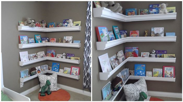 A nice, stylish bookshelf for a kid can be difficult, namely because it presents a hazard as they'll be inclined to climb them or the corners can be dangerou...