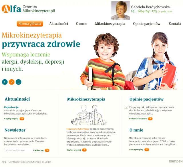 MIKROKINEZYTERAPIA http://mikrokinezyterapia.org.pl/