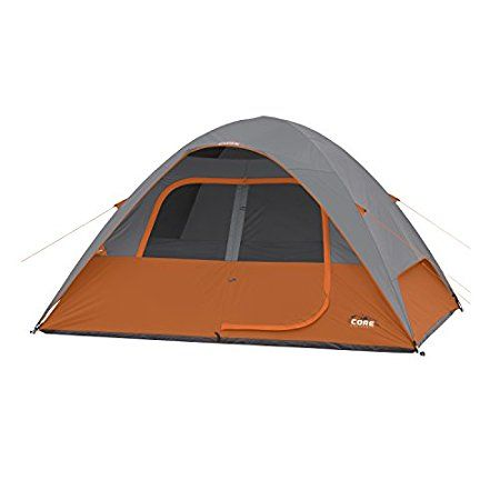 Core 6 Person Dome Tent Review – Very Affordable Tent  This Core 6 Person Dome Tent Review is about a nicely built 3-season freestanding family camping tent with two windows and enough space for 6 people, and with a very affordable price. #tents, #camping, #familycampingtents, #outdoors, #outdoorequipment