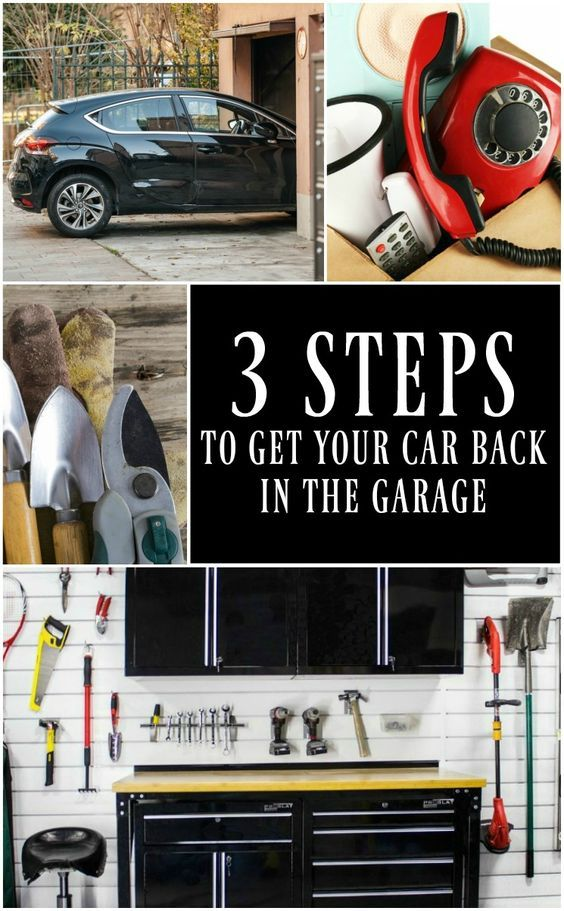 62 best garage workshop images on pinterest organization ideas organizers and tools - How to build a garage cheaply steps ...