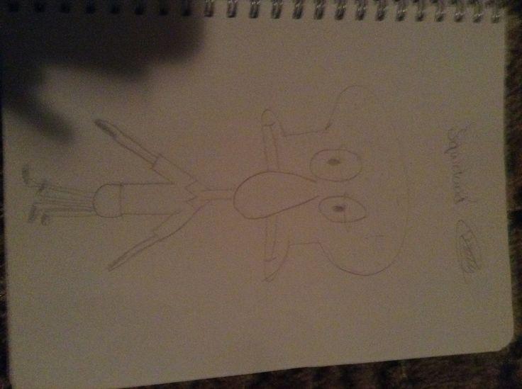 By molly_jane55 'squid ward'