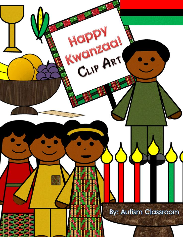 Kwanzaa Clip Art | Kwanzaa, Happy kwanzaa, Clip art