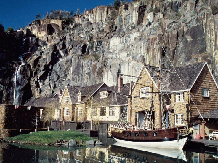 The Penny Royal hotel, Launceston, Tasmania. Australia....I LOVE THIS PLACE.