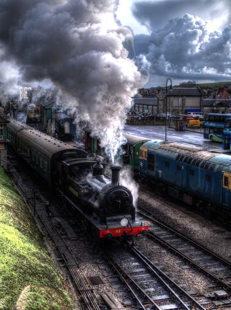 Southern Railways Locomotive, Swanage