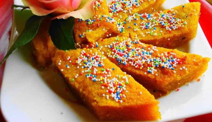 Surinaams eten – Bojo (cassave lekkernij)