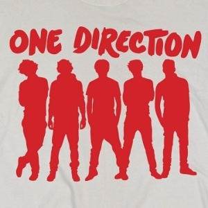 One Direction silhouette