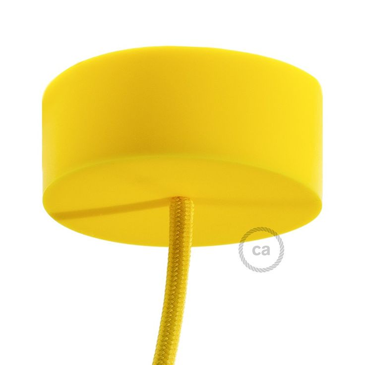 Silicone Rose Yellow IT: www.creative-cables.it USA: www.creative-cables.us Europe&Australia: www.creative-cables.com #homedecor #design #interiors #silicone #casa #maison #beleuchtung #rose #canopy #rosone #eclairage #diy #illuminazione #lighting