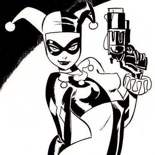 Bruce Timm Vampirella Harley Quinn Spider Man Batgirl Black Cat 2006 Sketchbook   eBay