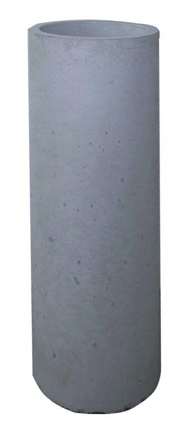 Donica z betonu architektonicznego Tube - zdjęcie od Bettoni - Beton Architektoniczny - Ogród - Styl Nowoczesny - Bettoni - Beton Architektoniczny