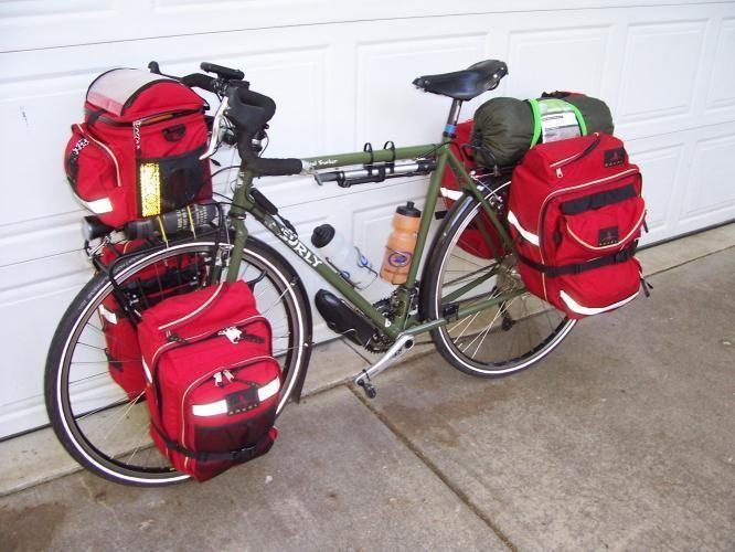 how to pack a bike for touring