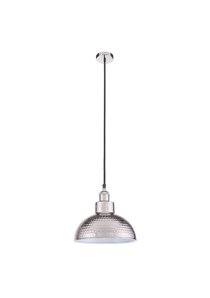 Dimpled Industrial Pendant - Luxe Lighting by Noozi - Onceit