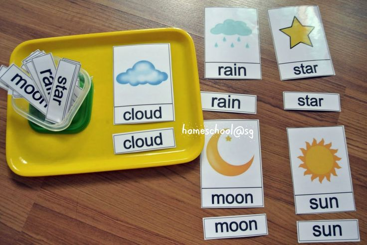Free Weather Printable Pack from homeschool@sg