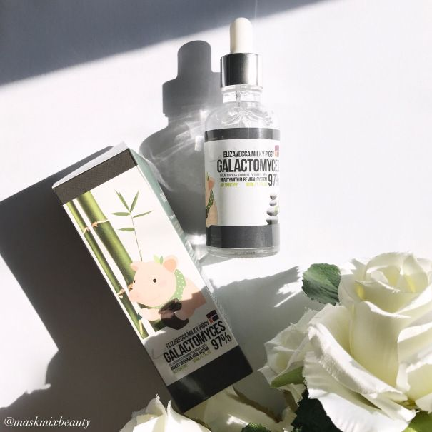 ELIZAVECCA MILKY PIGGY GALACTOMYCES 97% SERUM REVIEW - Aussie Beauty Blogger Mask Mix Beauty trials one of STYLE STORY's latest Korean Beauty serums.