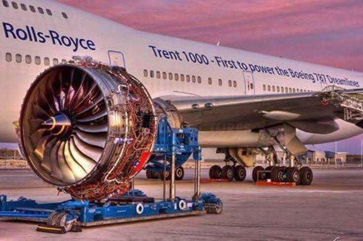 Rolls Royce Trent 1000 for B-787