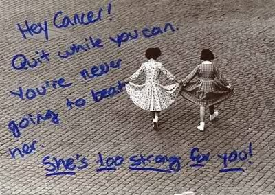 Dear cancer, you're going to lose!  #survivor  #cure #strength