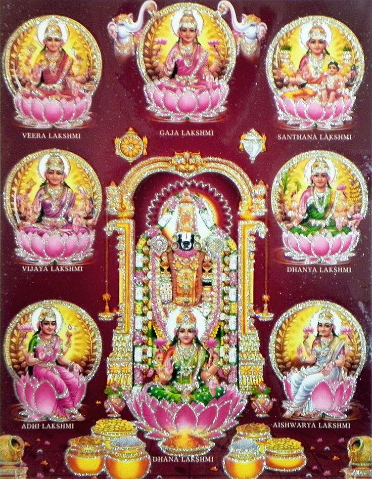 Balaji with Ashtalakshmi - ஓம் நம சிவாய