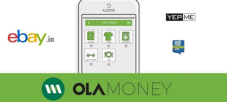 Now Shop on EBay YepMe & AskmeBazaar with Ola Money!