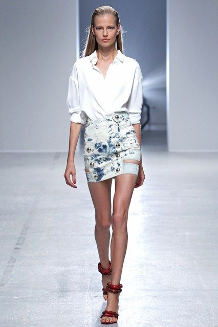 Anthony Vaccarello Spring/Summer 2014 Ready-To-Wear