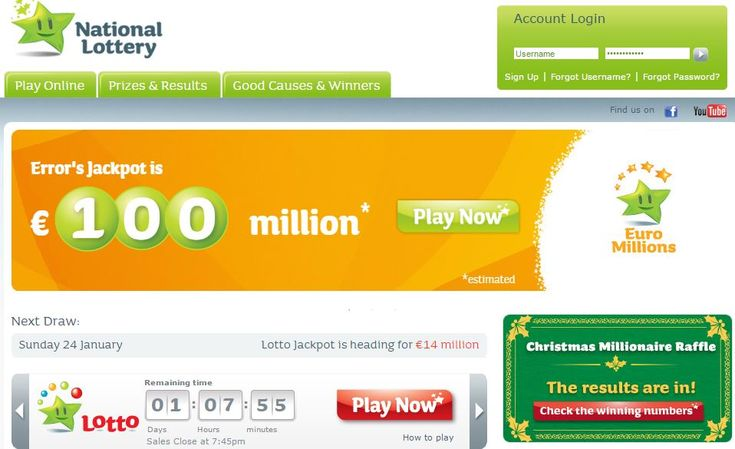Irish Lottery website and ticket terminals knocked offline by DDoS attack