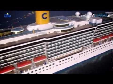 www.cruisejournal.de #Kreuzfahrt #cruise #Costa #Mediterranea - Rundgang und alle Informationen