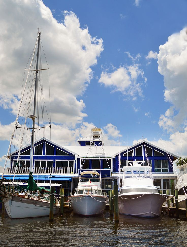 Walk - or Boat - to Art Galleries, Bars, and Your Hotel in the Historic Fishing Village of Port Salerno, Florida