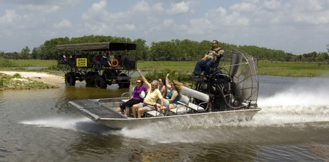 2-for-1 Offer: BILLIE SWAMP SAFARI  Purchase one day Swamp Safari Day package and get another free, including an airboat ride, swamp buggy tour, swamp critter show, snake show and animal exhibits. Cannot combine with any other offers or discounts. (800) 467-2327.